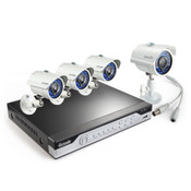 4 Channel Real-Time DVR Security Camera System 1TB