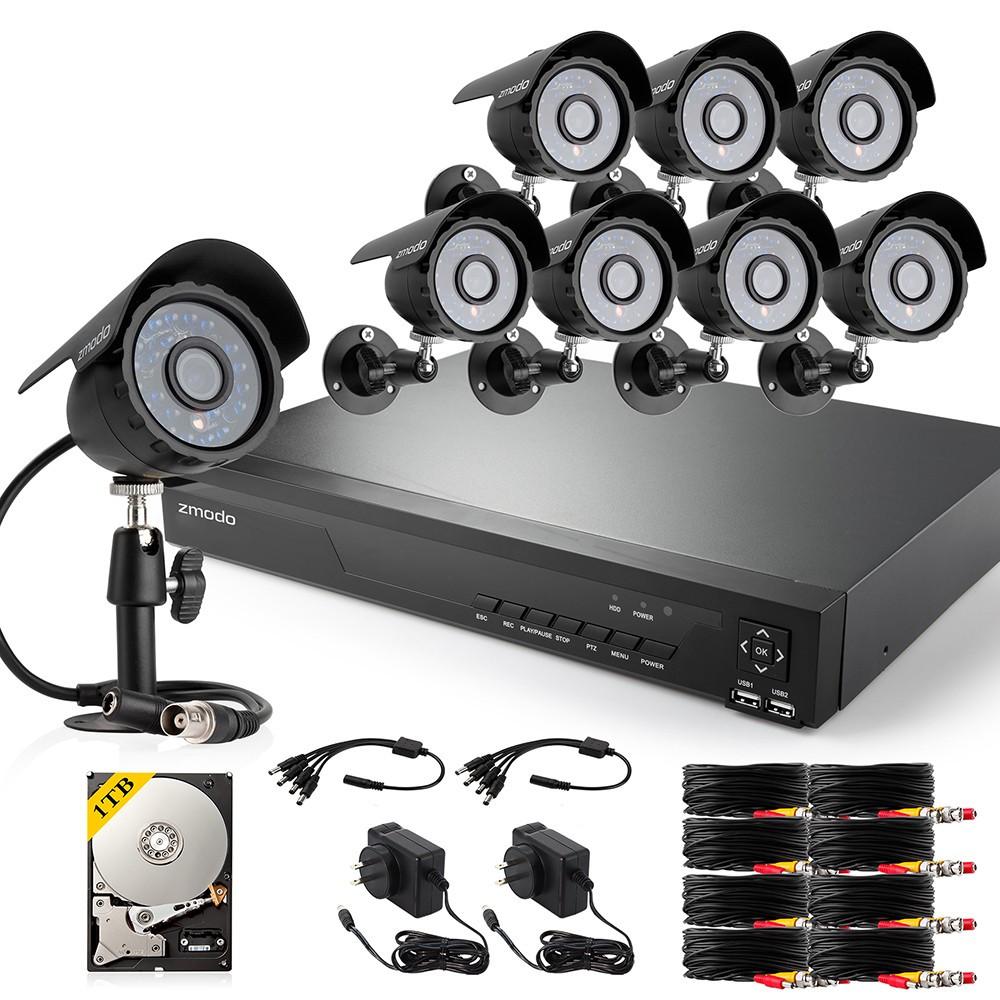 16CH 960H Analog DVR & Real-Time Recording & QR Code Scan Setup