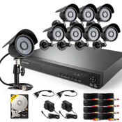 16CH 960H Analog DVR & Real-Time Recording & QR Code Scan Setup