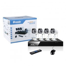 4 Channel Zmodo HD 720P with POE Camera System 1TB Drive