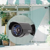 Zmodo Black Outdoor Security Bullet Camera 700TVL