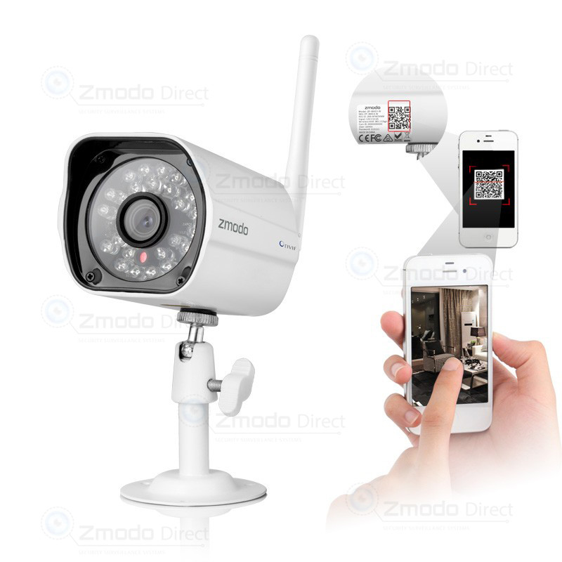 720P HD Wireless IP Network Camera with 65ft IR Night Vision