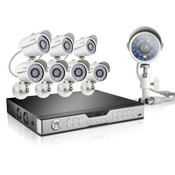 Zmodo 16 Channel Video Surveillance & 8 700TVL Cameras & 1TB HDD