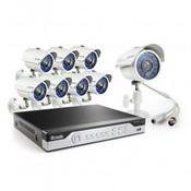 Zmodo DVR with High Resolution 700 TVL Cameras