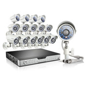 Zmodo 16 Channel Video Security System & 16 700TVL Cameras and 2TB HDD