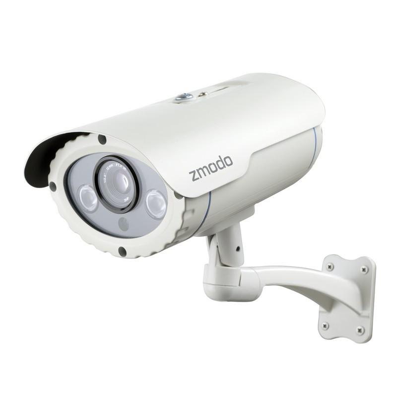 Zmodo 720P HD POE Long Range Network IP Camera with Quick QR Code Phone  Setup