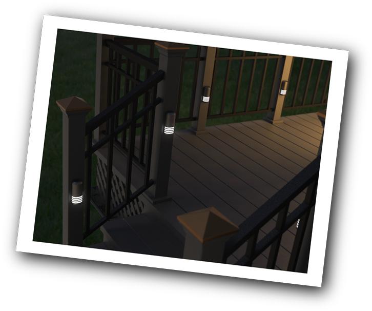 Deck Accent Lighting
