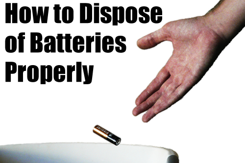 Where to throw away your batteries