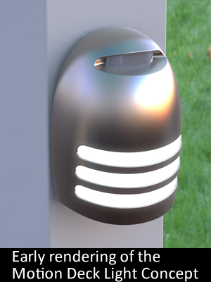 Motion Deck Light Prototype Design