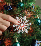 Christmas Tree Touch Ornament 1225 L Series