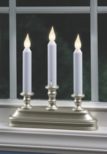 Light Sensor turns candle on at dusk and off at dawn