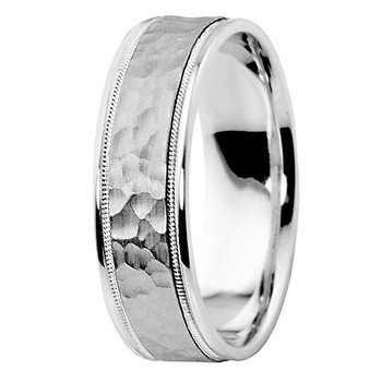 wedding hammered jeremys vs comfort rings band ring flat for fit bands