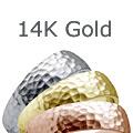 14k Gold Wedding Bands Rings