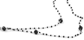 Black Diamond Necklaces and Pendants