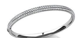 Diamond Bangle Bracelets