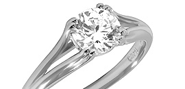 Diamond Solitaire Ring Settings