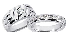 Fine Men's Diamond Rings