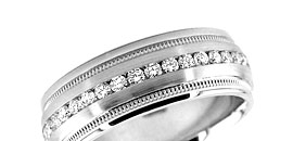 Men's Diamond Wedding Bands Rings