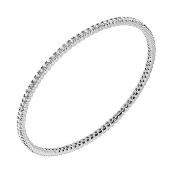 1.30ct Diamond Eternity Bangle Slide Bracelet
