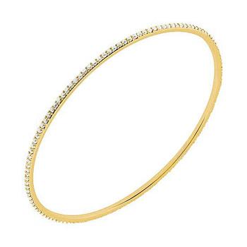 1.92ct Diamond Eternity Bangle Slide Yellow Bracelet