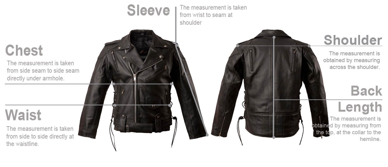 mens- leather-jacket-measurement