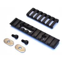 Ergo-4751   10-Slot Polymer M1913 Rail (1 mounting hole, 1 slot w/ Hardware)