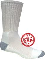 Magnum DC-1 White Socks 12/Pack