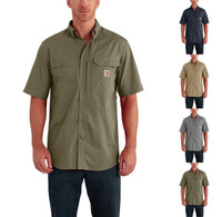 Carhartt Force Ridgefield Solid Short Sleeve Shirt - Use Coupon Code: CARHARTT for Special Savings