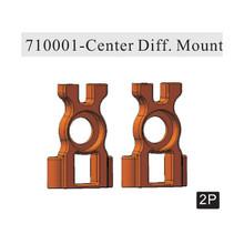 710001 Center Diff.Mount(Al.) 2P (Gun Metal) ~