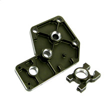 710007 Diff. Mount Set, Aluminum (Gun Metal) ~