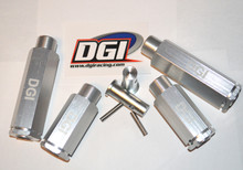 "DGI EXTENDERS   2"" &  3"" wheel  set for the hpi baja"