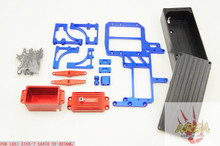 Dual Steering Servo Radio Tray For LOSI 5IVE-T