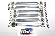 Package turnbuckles set for the Losi 5ive