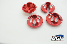 DBXL MTXL DBXL-E Aluminum spring perch RED