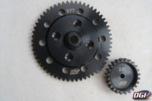 larger gears for dbxl losi 22/59