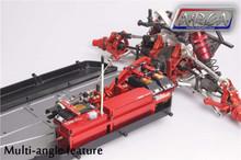 dual steering servo tray dbxl red