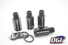 "DGI Extenders 2"" for losi5  and losi B Black"