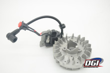 DGI Lightened Engine Flywheel & ignition baja losi zenoah rovan king motors