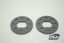 DGI carbon fiber brake discs for losi dbxl mtxl