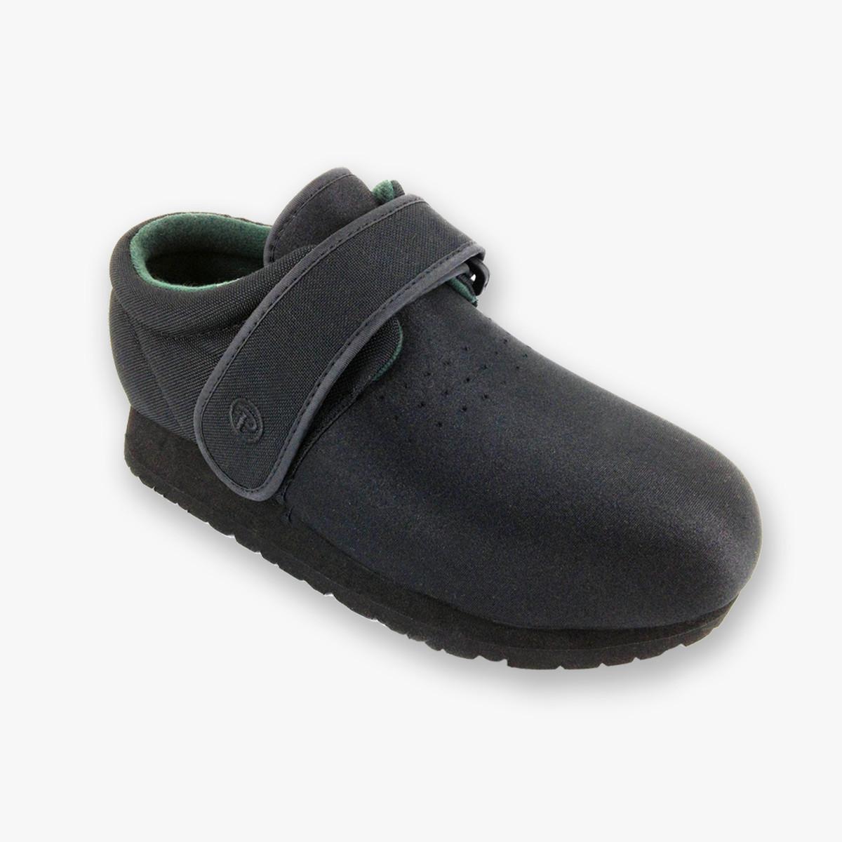 Pedors Classic Black Stretch Diabetic Orthopedic Shoes