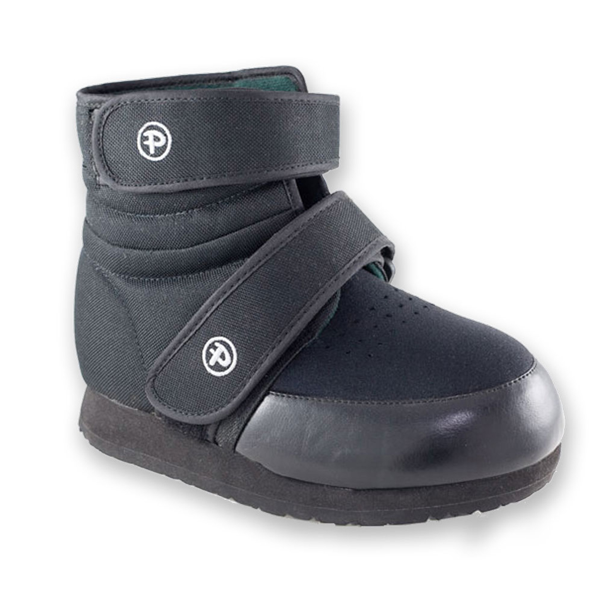 Pedors High Top Black Orthopedic Boot | Wide | Deep