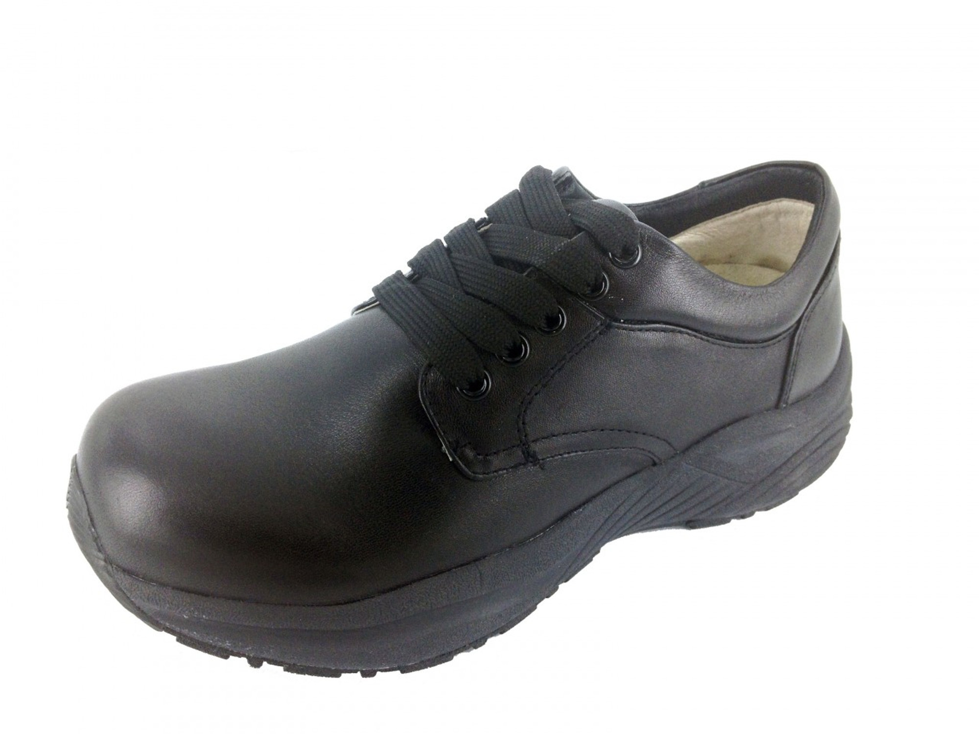Flat Orthopedic Lace Up Shoes