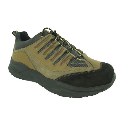 Genext Hiker Brown GAL40M Mens Suede Orthopedic Shoes