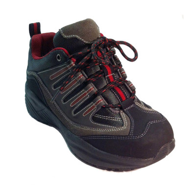 Genext Hiker Style Gray/Red Women's Walking Shoe