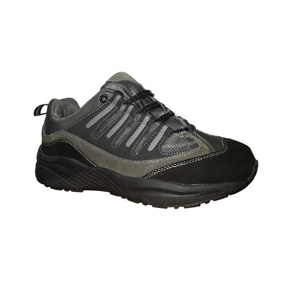 Genext Hiker Black GAL50M Mens Suede & Mesh Orthopedic Shoes