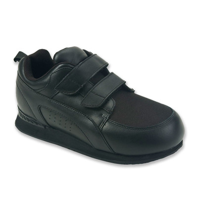 Pedors Stretch Walker Black 800 Diabetic Orthopedic Shoes for Walking