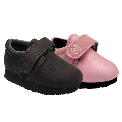 Pedors weEBors Black and Pink Orthopedic Shoes for Kids