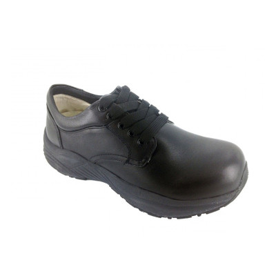 Genext Comfort Black Lace-Up GCL10M Mens Orthopedic Shoes