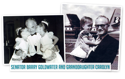 Senator Barry Goldwater and Granddaughter