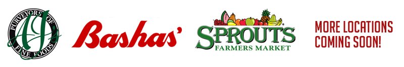 Aj's Fine Foods, Basha's and Sprouts
